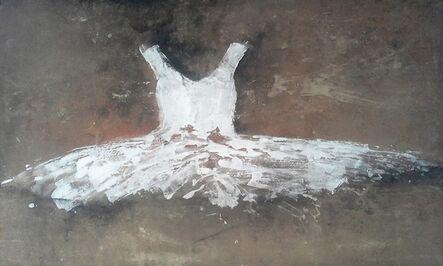 Ewa Bathelier, 'Little White Dress on the Sand', 2015