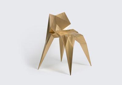 Zhoujie Zhang, 'Brass Bowtie Chair (SQN1-F2A)', 2014