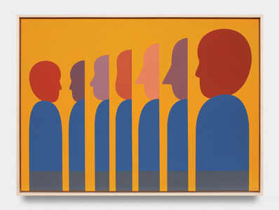Geoff McFetridge, 'Image Based Gamelan 3: The Self Is a Song Not a Diagram', 2020