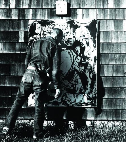 Hans Namuth, 'Jackson Pollock'