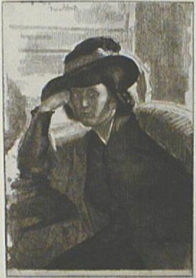 Gerald Leslie Brockhurst, 'Une Dacquoise (Anais)', 1922