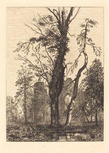 Maxime Lalanne, 'Dans un Parc', 1869