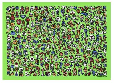 Mr. Doodle, 'Alien Town', 2020