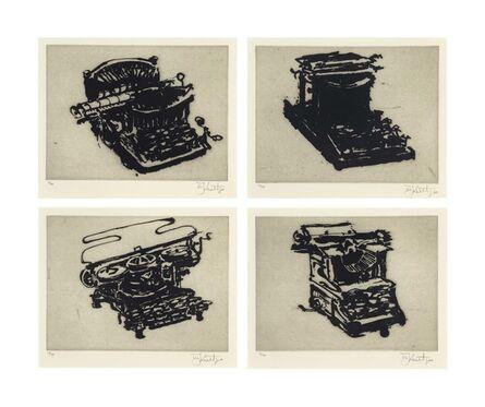 William Kentridge, 'Typewriter I-VIII', 2003