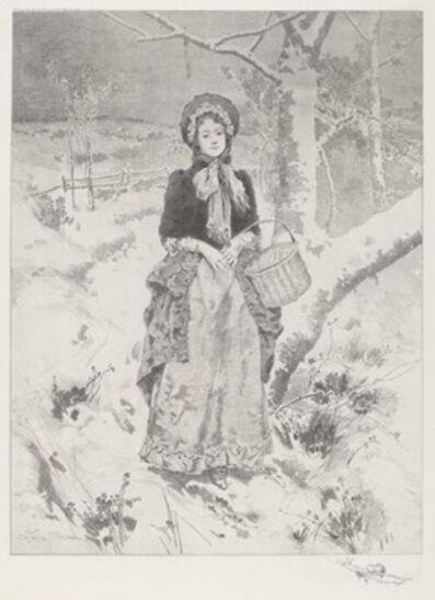 Leon Moran, 'Girl in Peasant Costume', 1888