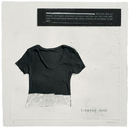 Julião Sarmento, 'Limping Duck', 2007