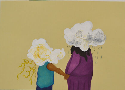 Tiz Creel, 'If we could live with clouds', 2020