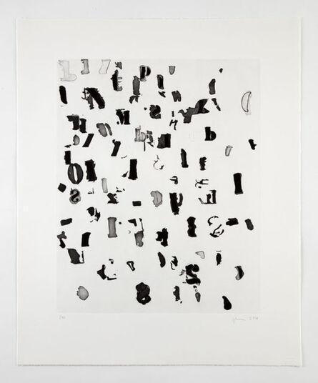 Glenn Ligon, 'Left Leaning', 2016