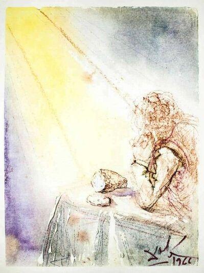 """Salvador Dalí, 'Illustration from """"Pater Noster"""" ', 1966"""