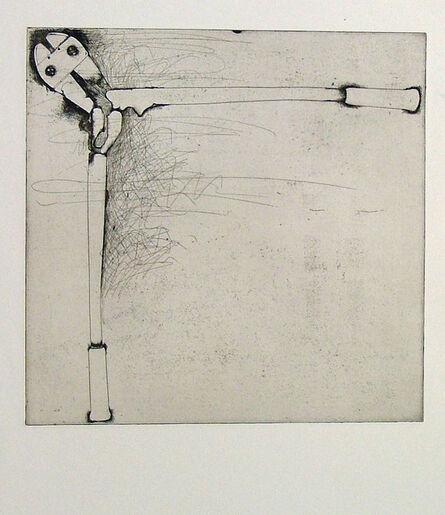 Jim Dine, 'Bolt Cutters (first state)', 1972
