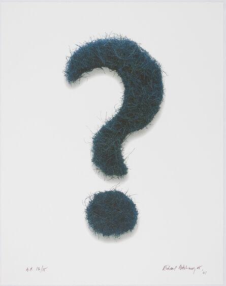 Richard Artschwager, 'Question Mark', 2001