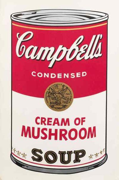Andy Warhol, 'Campbell's Soup I: Cream of Mushroom', 1968