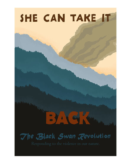 Cody Norris, 'The Black Swan Revolution (She can take it)', 2020