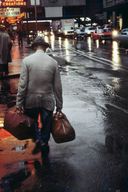 Vivian Maier, 'Man with Bags (VM1977K04454-06-MC)'