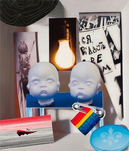 David Elliott, '2 Buddhas', 2013
