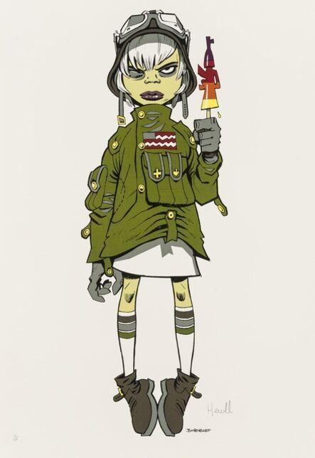 Jamie Hewlett, 'M16 Assault Lolly', 2005