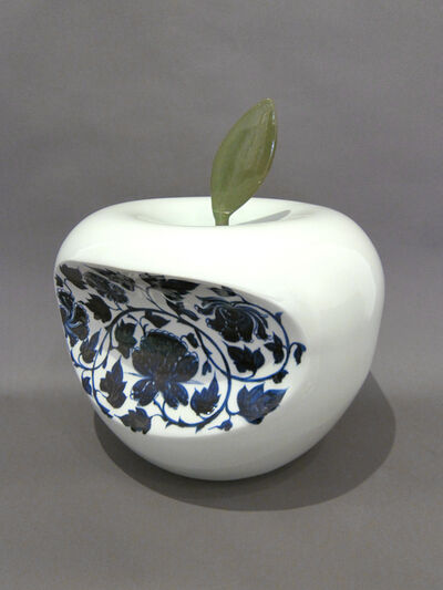 Li Lihong, 'Apple - China (Blue)', 2007
