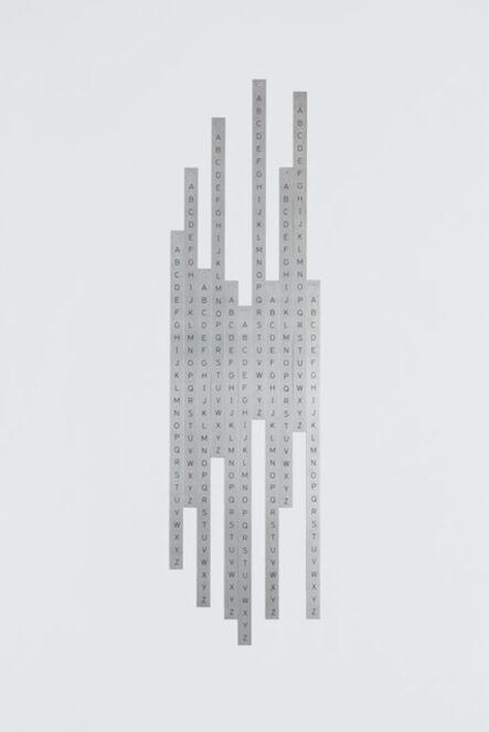 Detanico Lain, 'Infrecuente - da série Alfamétrica', 2010-2014