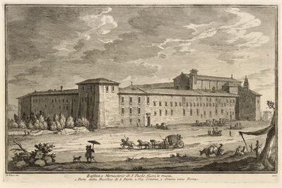 Giuseppe Vasi, 'Basilica e Monesterio di S. Paolo fuori le mura', 1747