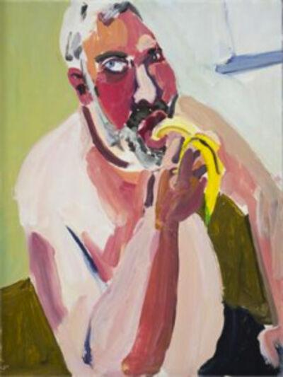 Chantal Joffe, 'Dan Eating a Banana', 2012