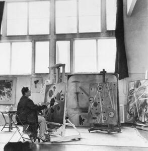 Unknown Artist, 'Hilla Rebay in her studio at Franton Court, Greens Farms, Connecticut', ca. 1946