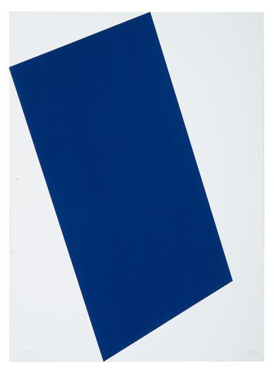 Ellsworth Kelly, 'Blue (for Leo) (Leo Castelli 90th Birthday Portfolio)', 1997