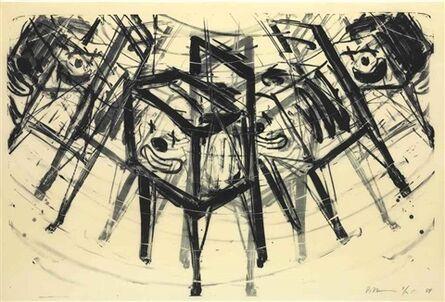 Bruce Nauman, 'TV Clown', 1988