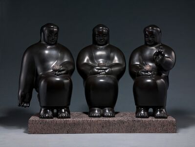 Li Chen, 'Three Bodies of Buddha 三覺者', 1998
