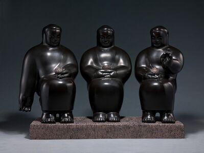 Li Chen, 'Three Bodies of Buddha 三覺者', 1998