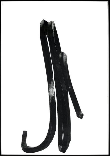 Bernar Venet, 'Ligne Indéterminée', 2016