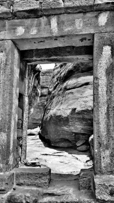 William Dalrymple, 'Badami Doorway', 2021