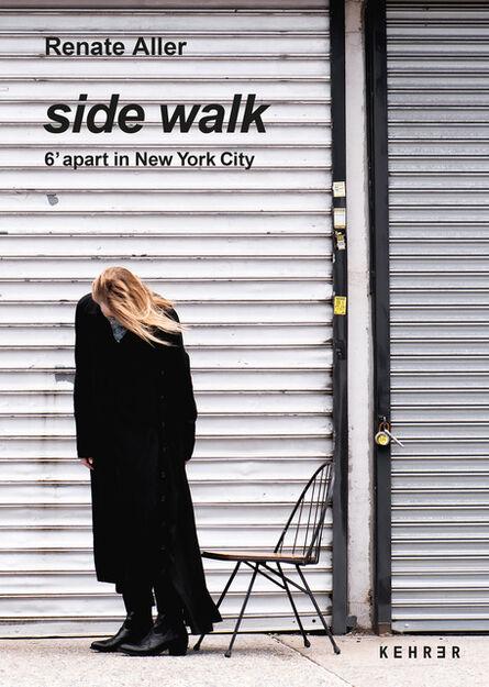 Renate Aller, 'side walk. 6' apart in New York City', 2021