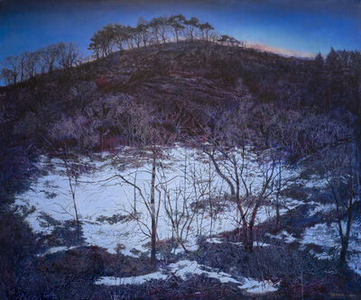 Victoria Crowe, 'The Snow Lies in the Shadow', 2021