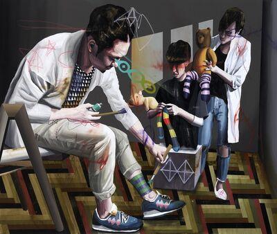 Shih Yung Chun, 'Striped Socks ', 2015