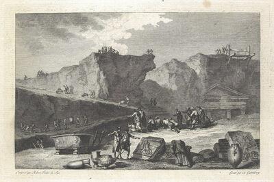 Jean Claude Richard de Saint-Non (author), '[Herculaneum]', 1781