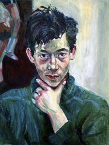 Carlo Pittore, 'Portrait of Damien', 1984
