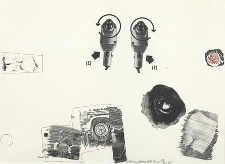 Robert Rauschenberg, 'Test stone #5', 1967