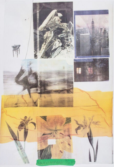 Robert Rauschenberg, 'Untitled (1989)', 1989