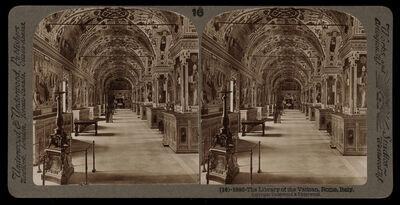 Bert Underwood, 'Library of the Vatican', 1900