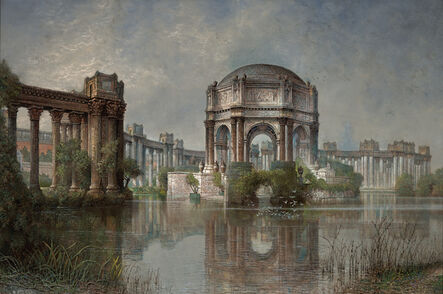 Edwin Deakin, 'Palace of Fine Arts and the Lagoon', 1923
