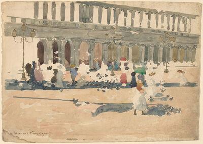 Maurice Brazil Prendergast, 'Caffè Florian in Venice', 1898/1899