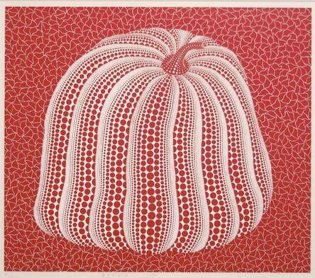 Yayoi Kusama, 'Red Colored Pumpkin', 1994
