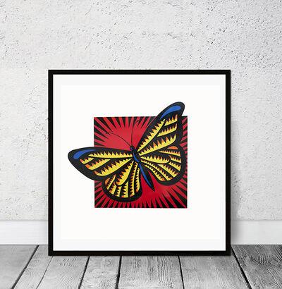 Burton Morris, 'Monarch Butterfly', 2015
