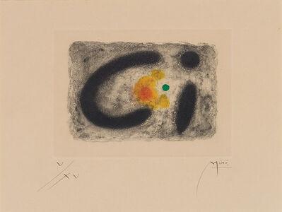 Joan Miró, 'Fusées (D. 250)', 1959