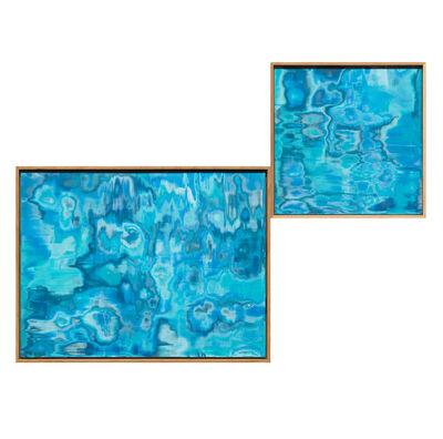 Josefine Lyche, 'Untitled (Lapis Lazuli / Aquamarine)', 2018