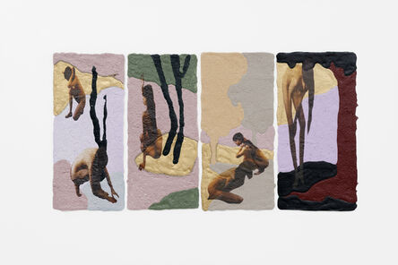 My-Lan Hoang Thuy, 'Violets (series)', 2020