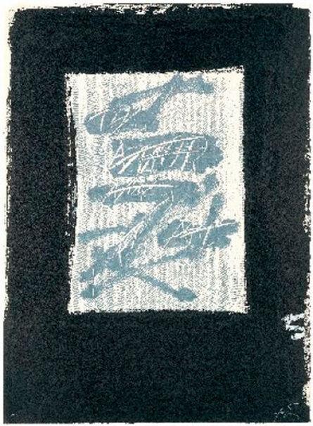 Antoni Tàpies, 'LLambrec 17', 1975
