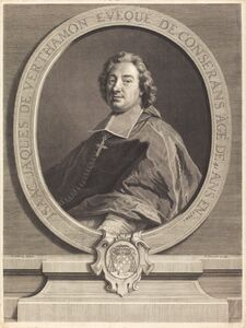 Pierre-Imbert Drevet after Francois de Troy, 'Isaac-Jacques de Verthamon'