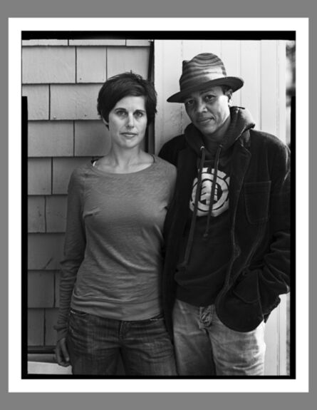 Robert Kalman, 'Emily & Rebecca, Provincetown'