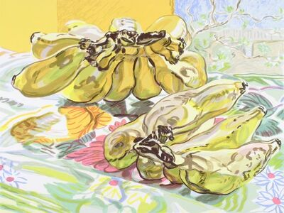 Janet Fish, 'Bananas', 1991